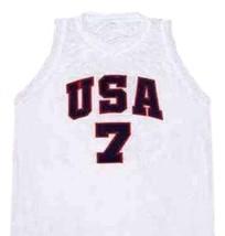 Derrick Rose Team USA Basketball Jersey Sewn White Any Size - $34.99