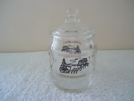 Vintage Roman Chariot / Horse Themed Glass Cand... - $20.56