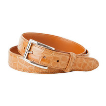 Trafalgar Alexander Tan Crocodile Belt - $325.00