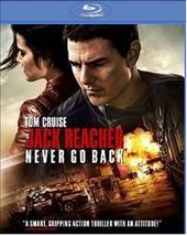 Jack Reacher:Never Go Back (Blu-ray, 2017)