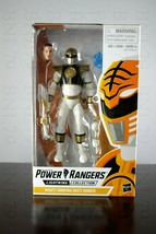 WHITE RANGER Mighty Morphin Power Rangers Lightning Collection Hasbro To... - $34.99