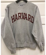 Classic Champion Harvard Hoodie Gray in Size Small - $29.69