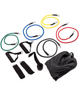 11pcs/Set Pull Rope Exercise Resistance Bands set Home Gym Equipment Fitnes - $37.31