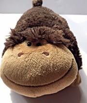 Pillow Pets Pee Wees  Monkey Plush Dark Brown Stuffed Animal - $19.75