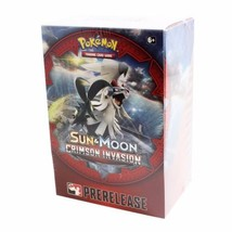Sun & Moon Crimson Invasion Prerelease Kit Box Pokemon TCG Factory Sealed - $21.99