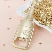 Gold Champagne Shaped Bottle Opener  - $5.99