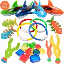 Henmi 26 Pack Diving Toy For Pool Use Underwater Swimming/Diving Pool To... - $19.41