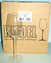 Riedel 6 Piece Champagne Glass Set Extreme Restaurant #454/28 Germany New In Box - $89.90