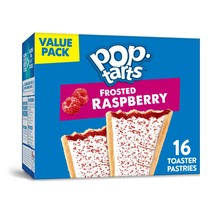 Pop-Tarts Breakfast Toaster Pastries, Frosted Raspberry, Value Pack - $16.00