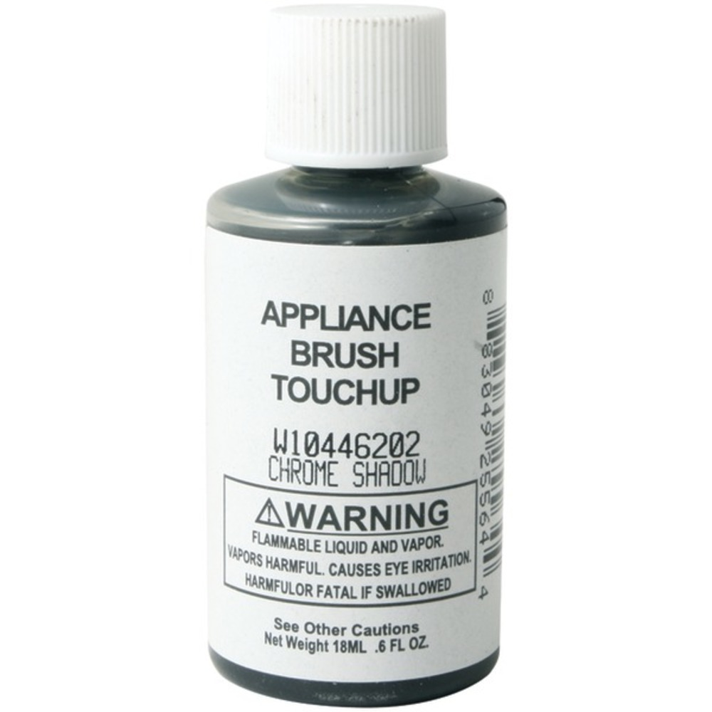 Primary image for No Logo W10446202 Appliance Brush-on Touch-up Paint (Chrome Shadow)