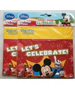 Disney Mickey Mouse Clubhouse Treat Loot Bags 2 8ct Packages 16 Total Sacks - $7.91