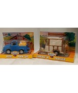 CHEVRON CARS PETE PICK-UP & HORACE 'N TRAILER VINTAGE 3+ NEW TOY KIDS CH... - $39.59
