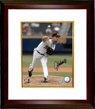 John Smoltz signed Atlanta Braves 8x10 Photo Custom Framed (white jersey... - $116.95