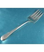 "Silverplate Serving Meat Fork ✰ Winthrop ✰ Antoinette ✰ 1931 8.25"" - $19.99"