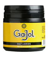 Ga-Jol SALTED Licorice chews - Refillable can-100g-FREE SHIPPING - $9.41