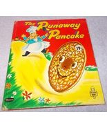 Vintage Tell A Tale Children's Book The Runaway Pancake 1956 Ben Williams - $24.95