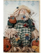 Patches Scarecrow Doll Figure Sewing Pattern Primitive Autumn Harvest - £7.99 GBP