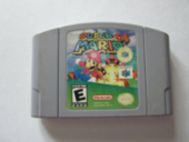Super Mario 64 Nintendo 64 Cartridge Authentic Cleaned & Tested N64 1996 - $31.62