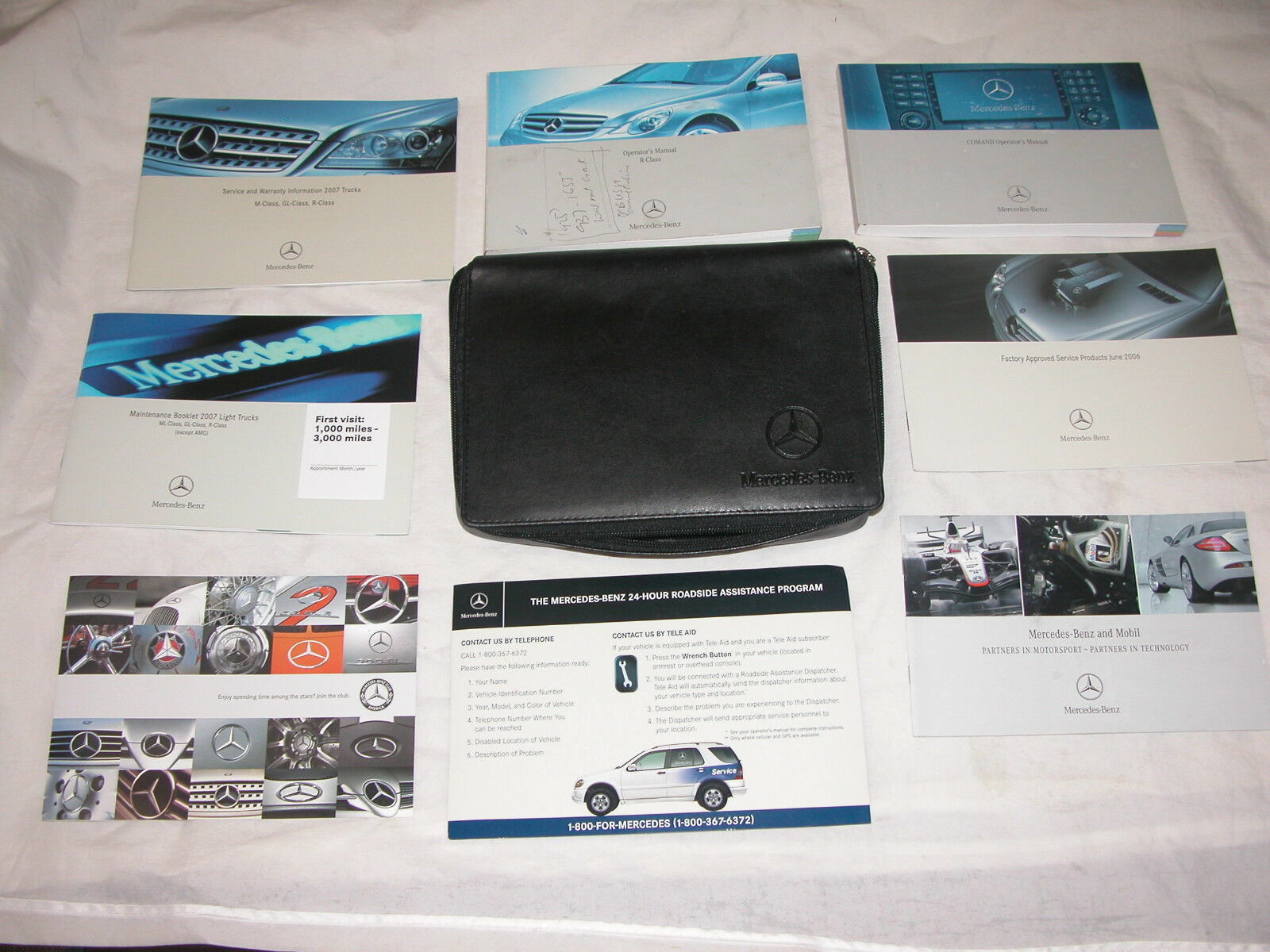 Primary image for 2007 Mercedes Benz Operators Manuals, r-Class R 320 CDI, R 350, R 500, R 63 AMG