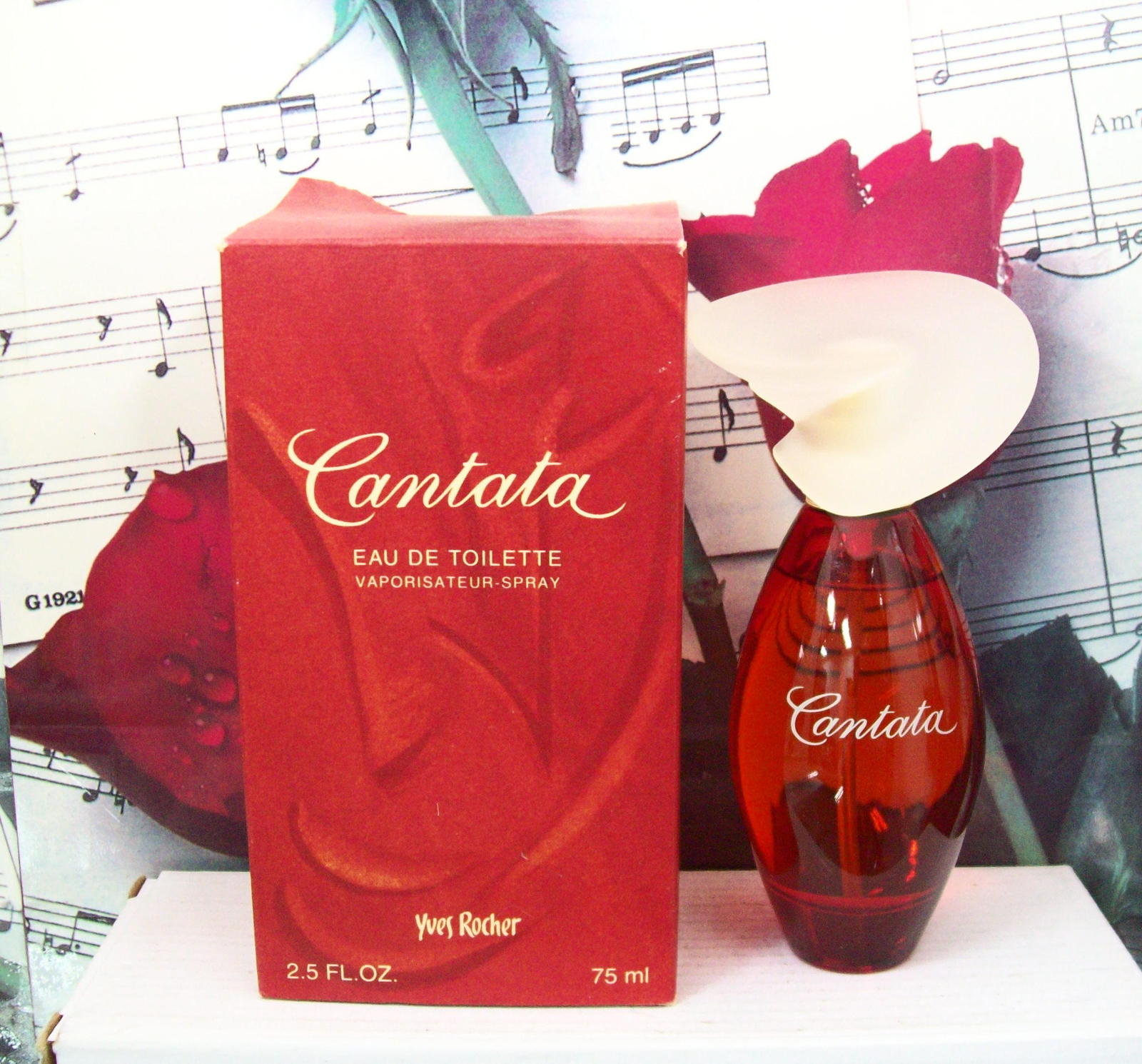 Primary image for Yves Rocher Cantata EDT Spray 2.5 FL. OZ.