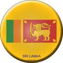 Sri Lanka Novelty Metal Circular Sign - $21.95