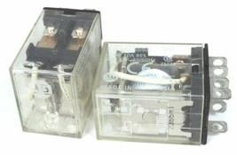 LOT OF 2 ALLEN BRADLEY 700-HF32A1 SER. B RELAYS, 700HF32A1, 120 VAC 50/60HZ