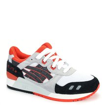 Asics Men's Gel-Lyte III Sneakers H518N-0190 White/Black SZ 4 M (US) - $87.62