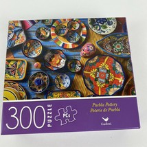 New 300 Piece Jigsaw Puzzle (Puebla Pottery) Mexican~Dishes~Landscape~ - $6.79