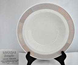 Mikasa Intaglio Tracings CAC06 Large Rimmed Soup Bowl - $12.99