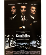 GOODFELLAS SIGNED POSTER  - $210.00