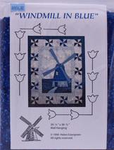 Quilt Kit - Windmill in Blue Dutch Wall Hanging Holland Sold by the Kit ... - $39.97