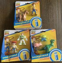 Imaginext Disney Pixar Toy Story Fisher Price 2 & 3 packs SET of 3 *NEW*... - $29.99