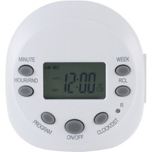 GE 15154 7-Day Random On/off 1-Outlet Plug-in Digital Timer - $33.64