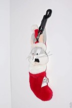 Bugs Bunny Plush Christmas Stocking Key Ring Clip Warner Bros Studio Store - $20.75