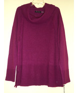 Ivanka Trump NWT Magenta Wildberry Sweater Pullover XL Lovely Color! - $32.44