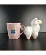 Jessica Flick Prima Design Llama Coffee Mug with Plush 16 Ounce - $22.99