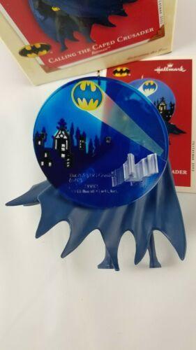 Hallmark Keepsake Ornament Calling the Caped Crusader Batman Lighting Effect  image 5