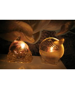 Partylite Dolphin and Whale Tealight Holders Party Lite - $11.00