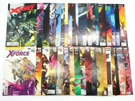 Uncanny X-Force 1-35 Complete Set w/ Signed Issues Vol 1 Dec 2010 Marvel... - $106.42
