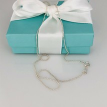 """Tiffany & Co NEW 16"""" Sterling Silver Bead Chain Necklace - $115.00"""