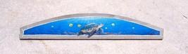 Sea Turtle Over the Door plaque beach art Nautical painting tortoise sea... - £37.81 GBP