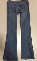 Juicy Couture Jeans Girls Size 24 Distressed Boot Cut image 6