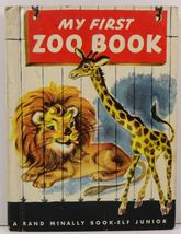 My First Zoo Book by Andy Cobb Junior Elf Book - $2.99