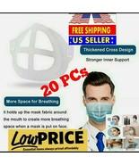 20 PCS 3D Mask Bracket Cover Inner Stand Holder Support Frame For Face S... - $27.72