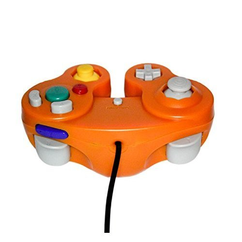 GameCube USB Controller Orange For Windows MAC And Linux By Mars Devices
