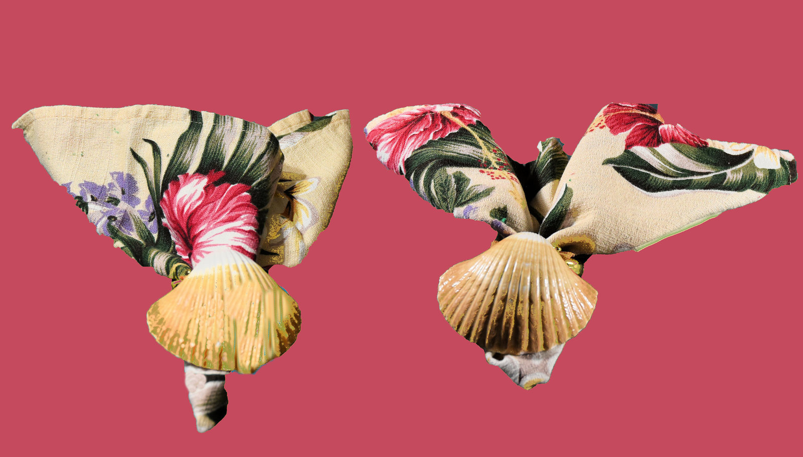 """Fitz & Floyd """"Coquille Shell"""" Napkin Rings (Set of 8) - $28.00"""