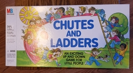 CHUTES & LADDERS GAME 1979 MILTON BRADLEY COMPLETE EXCELLENT UNPLAYED CO... - $20.00