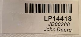 John Deere LP14418 Green Adjustable Baseball Cap With Leaping Deer Logo image 10