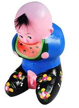 PANDA SUPERSTORE Clay Sculpture Clay Figurines Chinese Doll Decoration Gifts Art