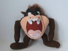 "Looney Tunes 8"" Taz Plush Tasmanian Devil Stuffed Animal Ace 1996 - $7.67"